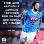 Higuain: voglio la Champions