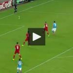 Napoli - Brugge: Spettacolare Goal di Callejon