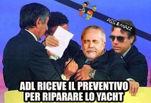 ADL il preventivo per riparare lo Yacht