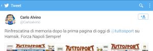 Carlo Alvino risponde a Tuttosport