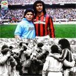 Milan Vs Maradona