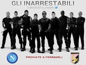 Napoli Palermo Gl' Inarrestabili