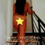 Marika Fruscio Hot durante Milan Napoli