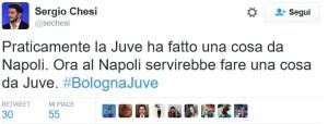 Sergio Chesi: Ora Bisogna essere come la Juve